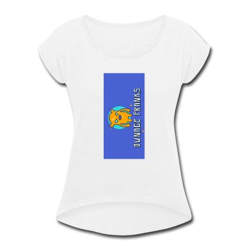 logo iphone5 - Women's Roll Cuff T-Shirt