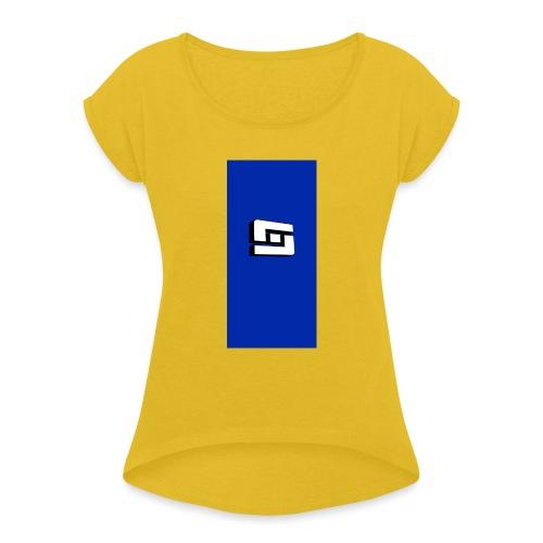 whites i5 - Women's Roll Cuff T-Shirt