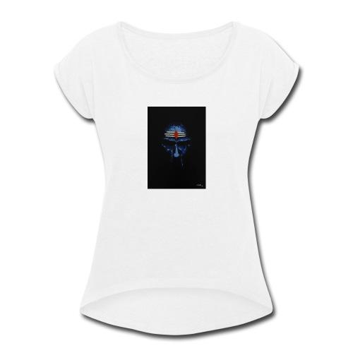 shiva - Women's Roll Cuff T-Shirt