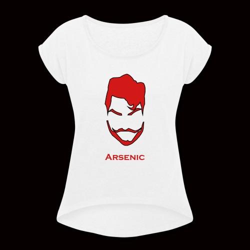 Archie Logo - Women's Roll Cuff T-Shirt