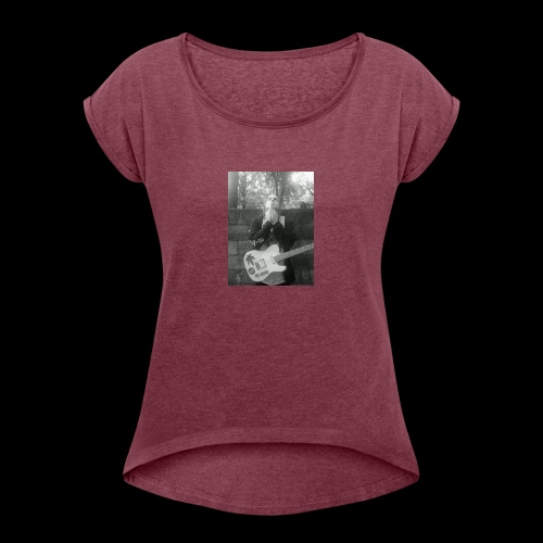 The Power of Prayer - Women's Roll Cuff T-Shirt