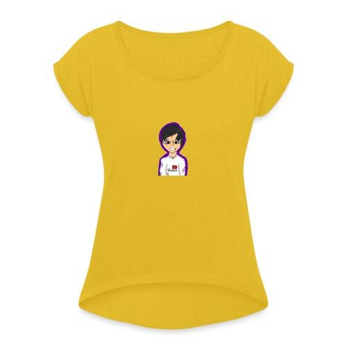 zFkhRRO - Women's Roll Cuff T-Shirt