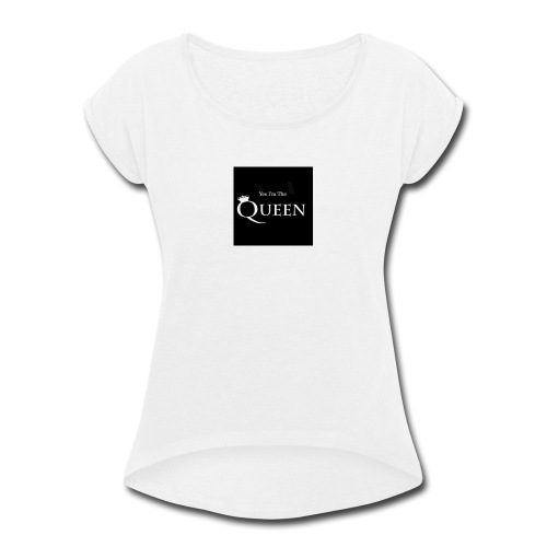 FB IMG 1469829619708 - Women's Roll Cuff T-Shirt