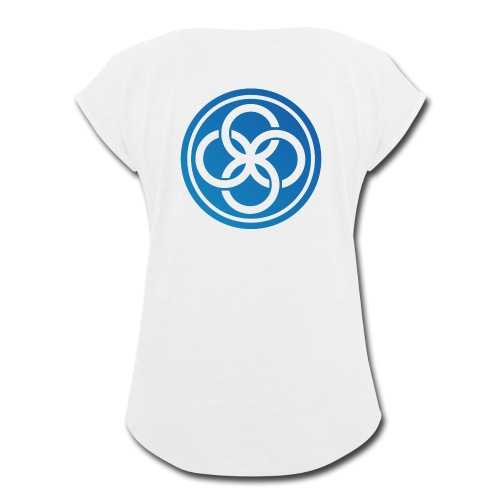 The IICT Seal - Women's Roll Cuff T-Shirt