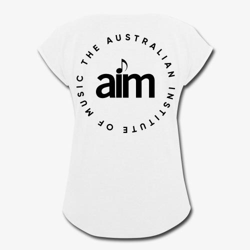 Australian Institute of Music - Women's Roll Cuff T-Shirt