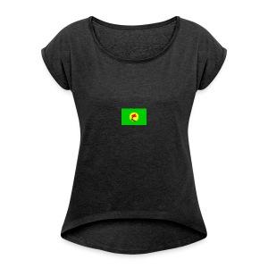Zaïre - Women's Roll Cuff T-Shirt