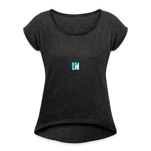 Server Logo - Women's Roll Cuff T-Shirt