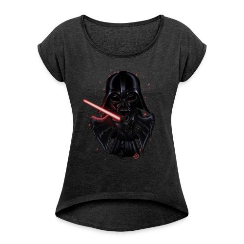 'Bird Vader - Women's Roll Cuff T-Shirt