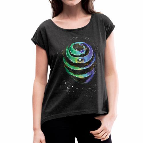the unwrap - Women's Roll Cuff T-Shirt