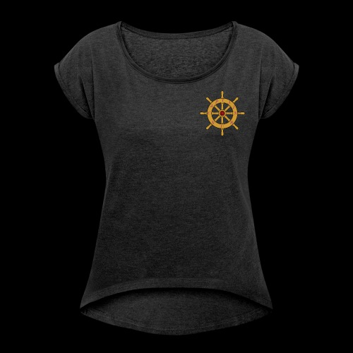 Nubs logo 1.0 - Women's Roll Cuff T-Shirt