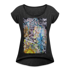 The End of Order - Women's Roll Cuff T-Shirt