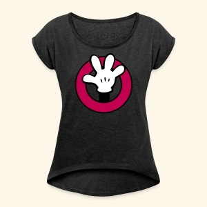 Hands Up! [for adventure] - Women's Roll Cuff T-Shirt