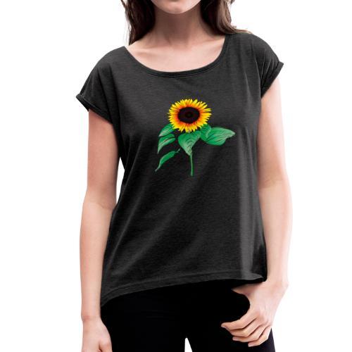 sunflower - Women's Roll Cuff T-Shirt