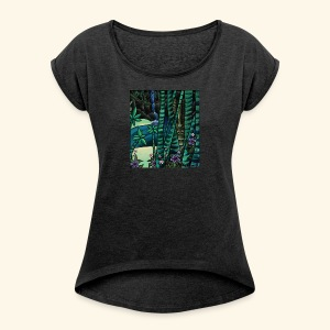 Guarded Cove - Women's Roll Cuff T-Shirt