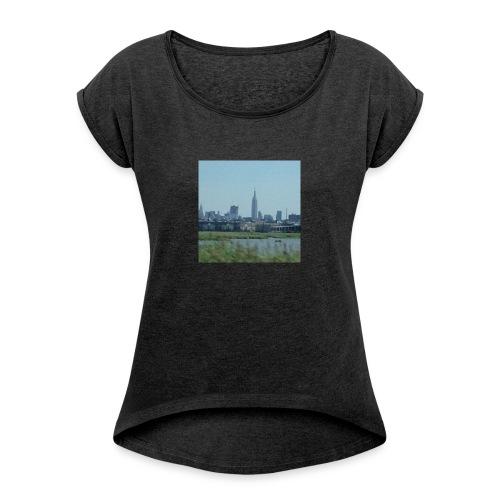 New York - Women's Roll Cuff T-Shirt