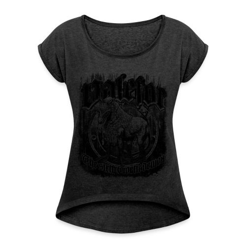 Valefor - Women's Roll Cuff T-Shirt