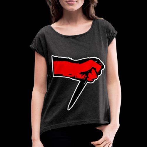 KNIFER - Women's Roll Cuff T-Shirt