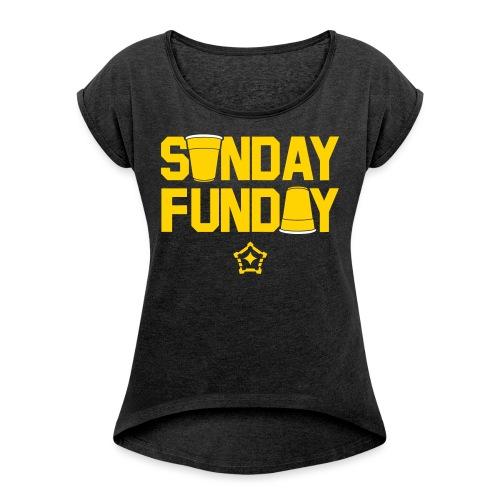 sunfun - Women's Roll Cuff T-Shirt