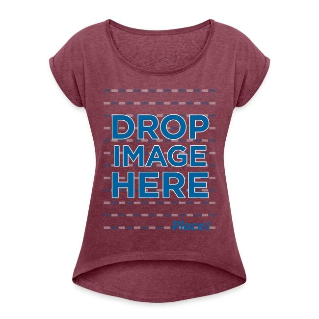 DROP IMAGE HERE - Placeit Design