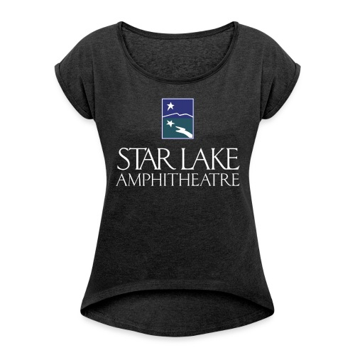 Star Lake on Color - Women's Roll Cuff T-Shirt