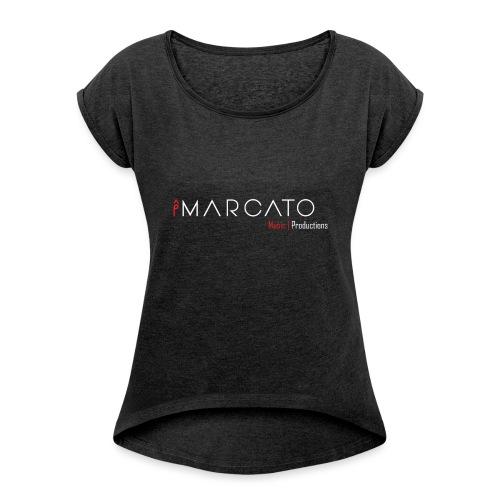 Big logo - Women's Roll Cuff T-Shirt