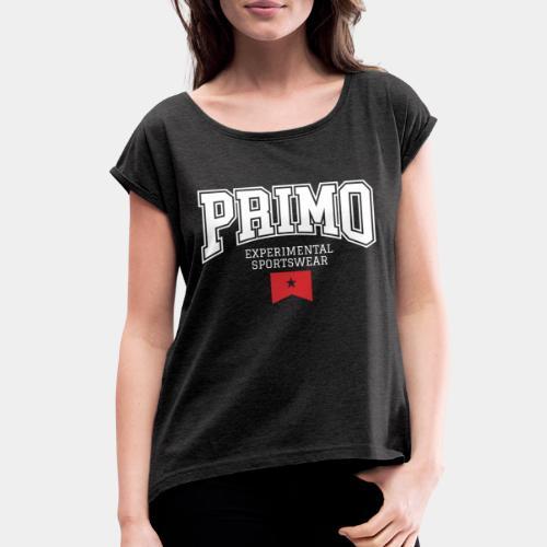 experimental sportswear streetwear - Women's Roll Cuff T-Shirt