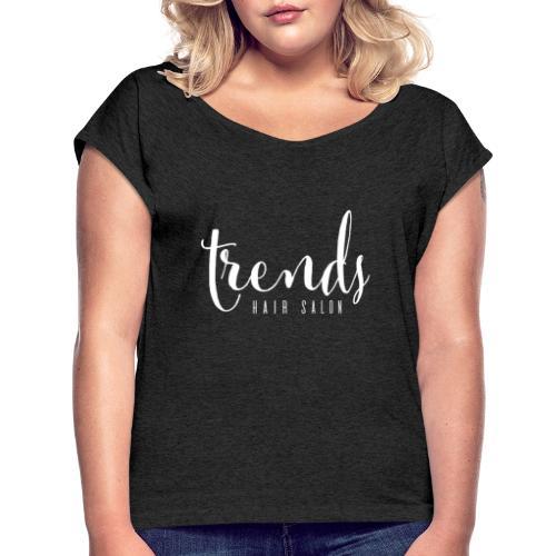 A846ECFD CD24 4BC5 8327 5102DD1245C7 - Women's Roll Cuff T-Shirt