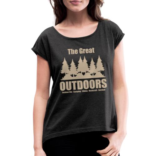 The great outdoors - Clothes for outdoor life - Women's Roll Cuff T-Shirt