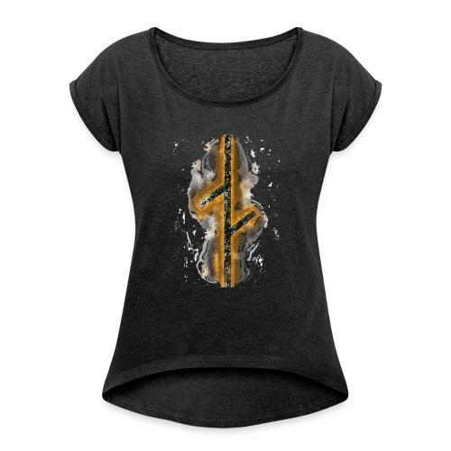 LOGOZ - Women's Roll Cuff T-Shirt