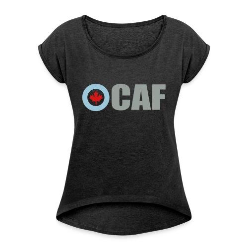 Canadian Air Force - Women's Roll Cuff T-Shirt