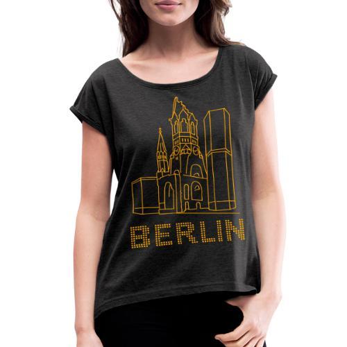 Memorial Church Berlin - Women's Roll Cuff T-Shirt