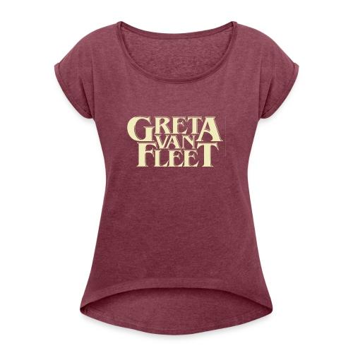 band tour - Women's Roll Cuff T-Shirt