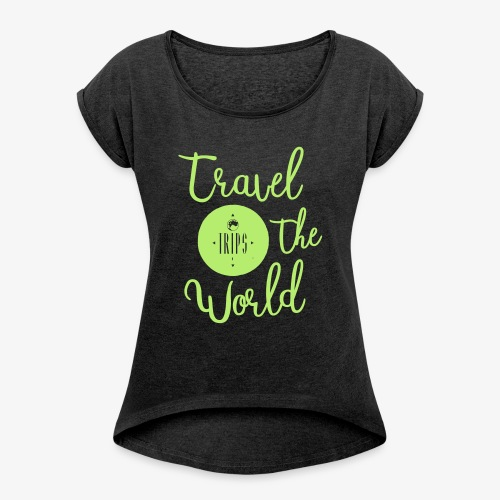 Trips Inc.™ 2017 T Shirt - Women's Roll Cuff T-Shirt