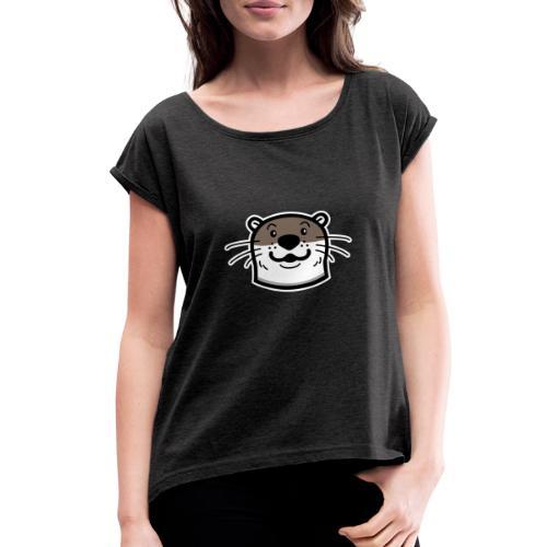 TNC Otter - Women's Roll Cuff T-Shirt