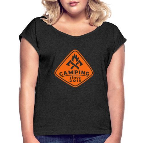 Campfire 2013 - Women's Roll Cuff T-Shirt