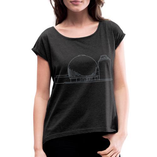 Planetarium Berlin - Women's Roll Cuff T-Shirt