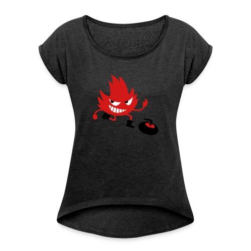 Leif Curling - Women's Roll Cuff T-Shirt