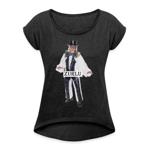zurlu - Women's Roll Cuff T-Shirt