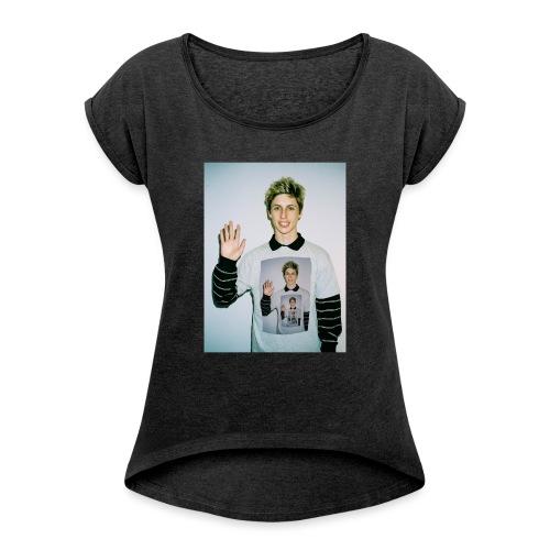 lucas vercetti - Women's Roll Cuff T-Shirt