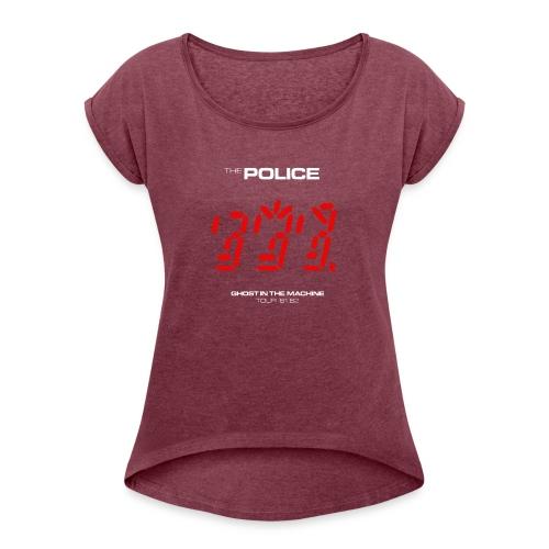 Ghost in the Machine - Women's Roll Cuff T-Shirt