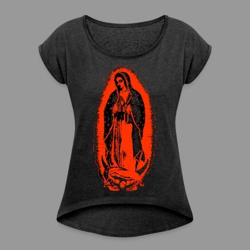 Mary's Glow - Women's Roll Cuff T-Shirt