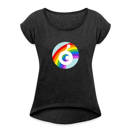 rainbow OST - Women's Roll Cuff T-Shirt