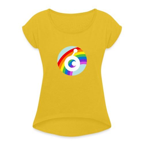 rainbow OST - Women's Roll Cuff T-Shirt