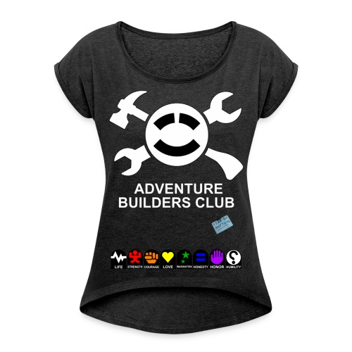Adventure Builders Club - Women's Roll Cuff T-Shirt
