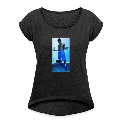 Sosaa - Women's Roll Cuff T-Shirt