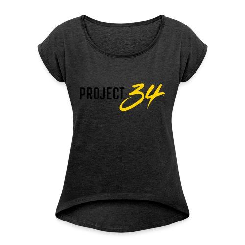 Project 34 - Pittsburgh - Women's Roll Cuff T-Shirt