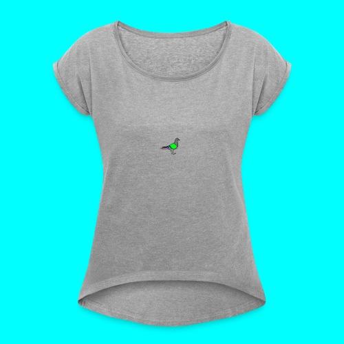 Pigeon - Women's Roll Cuff T-Shirt