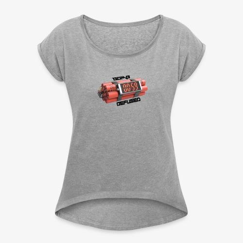 Bomb Defused!! - Women's Roll Cuff T-Shirt