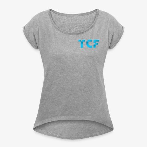 Tezos Commons - Women's Roll Cuff T-Shirt