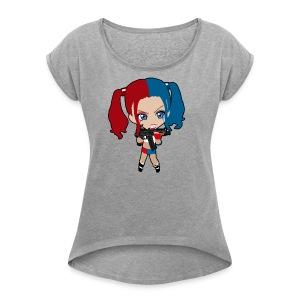 Marley Quinn - Women's Roll Cuff T-Shirt